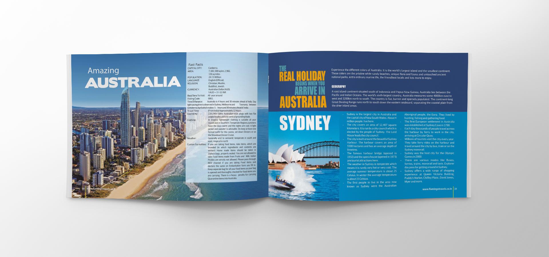 Flamingo Austrila-Newzeland Brochure Inside new