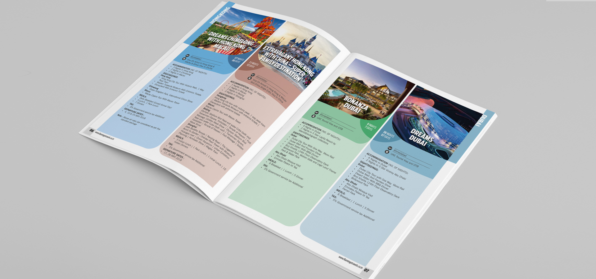 Flamingo Summer Brochure Inside Page-3